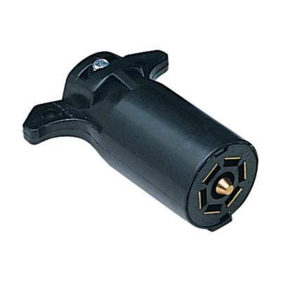 Trailer Wiring Seven Pole Rv Style Connector Plug Btt 7555014