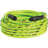 Air Hose, 3/8 in x 50 ft, w/ 1/4 in MNPT ends, Flexzilla BTE 613895