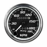 Gauge - Speedometer 190 KPH Speedometer Mechanical EQU 7079