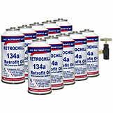 A/C R134a Refrigerant Retrofit Kit CLP 70510KIT